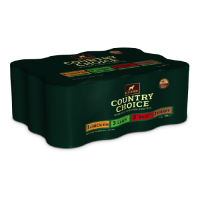 Gelert Country Choice Dog Cans Mixed Chunks in Jelly