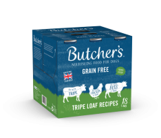 Butchers Cans Grain Free Tripe Loaf Recipes 400g x 18