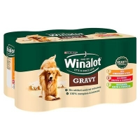 Winalot Cans Mixed in Gravy 12 x 400g