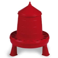 Plastic Poultry Feeder with Legs